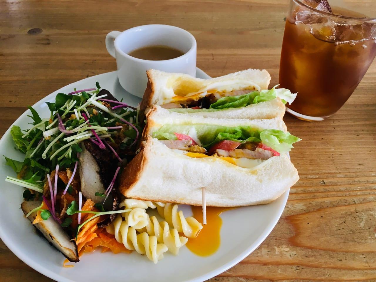 ミソラ食堂サンドウィッチ